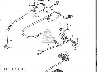 Suzuki Vs700glef Intruder 1986 g Usa e03 Electrical