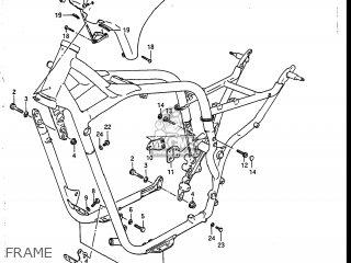 Suzuki Vs700glef Intruder 1986 g Usa e03 Frame
