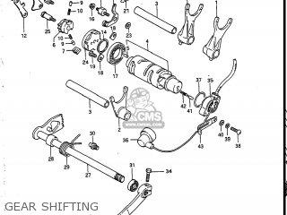 Suzuki Vs700glef Intruder 1986 g Usa e03 Gear Shifting