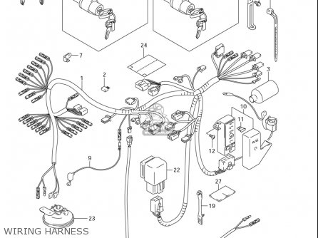2004 Gs500f Wiring Diagram
