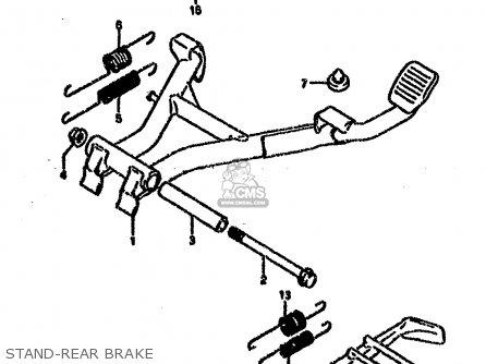 Suzuki Vx800u 1994 R Parts Lists And Schematics