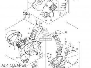 Suzuki Vz1500 Boulevard M90 2009 k9 Usa California e03 E33 Air Cleaner