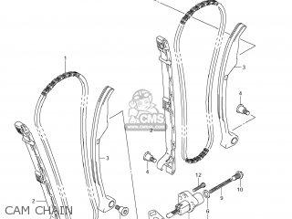 Suzuki Vz1500 Boulevard M90 2009 k9 Usa California e03 E33 Cam Chain