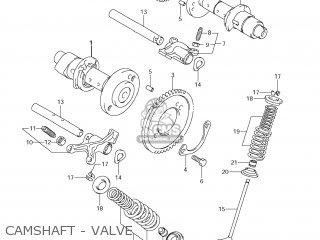 Suzuki Vz1500 Boulevard M90 2009 k9 Usa California e03 E33 Camshaft - Valve