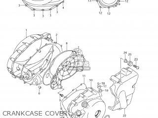 Suzuki Vz1500 Boulevard M90 2009 k9 Usa California e03 E33 Crankcase Cover
