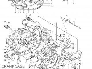 Suzuki Vz1500 Boulevard M90 2009 k9 Usa California e03 E33 Crankcase