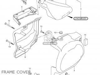 Suzuki Vz1500 Boulevard M90 2009 k9 Usa California e03 E33 Frame Cover