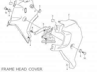 Suzuki Vz1500 Boulevard M90 2009 k9 Usa California e03 E33 Frame Head Cover