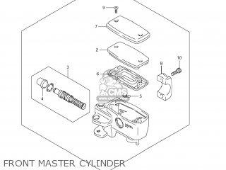 Suzuki Vz1500 Boulevard M90 2009 k9 Usa California e03 E33 Front Master Cylinder