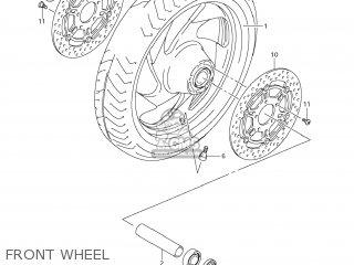 Suzuki Vz1500 Boulevard M90 2009 k9 Usa California e03 E33 Front Wheel
