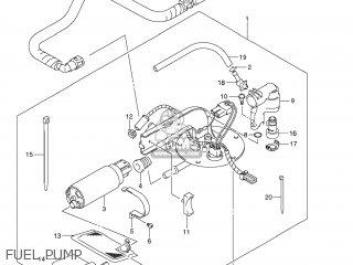 Suzuki Vz1500 Boulevard M90 2009 k9 Usa California e03 E33 Fuel Pump