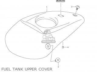 Suzuki Vz1500 Boulevard M90 2009 k9 Usa California e03 E33 Fuel Tank Upper Cover