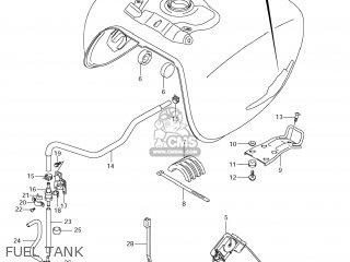 Suzuki Vz1500 Boulevard M90 2009 k9 Usa California e03 E33 Fuel Tank
