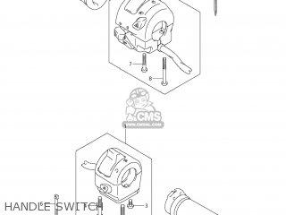 Suzuki Vz1500 Boulevard M90 2009 k9 Usa California e03 E33 Handle Switch