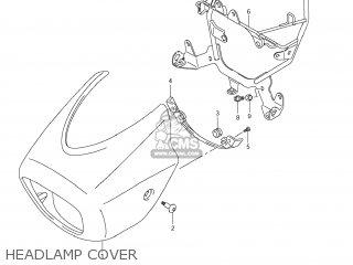Suzuki Vz1500 Boulevard M90 2009 k9 Usa California e03 E33 Headlamp Cover