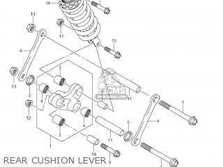 Suzuki Vz1500 Boulevard M90 2009 k9 Usa California e03 E33 Rear Cushion Lever