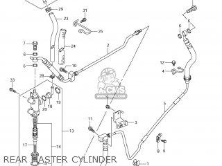 Suzuki Vz1500 Boulevard M90 2009 k9 Usa California e03 E33 Rear Master Cylinder