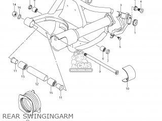 Suzuki Vz1500 Boulevard M90 2009 k9 Usa California e03 E33 Rear Swingingarm