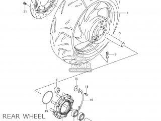 Suzuki Vz1500 Boulevard M90 2009 k9 Usa California e03 E33 Rear Wheel