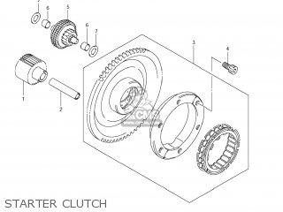 Suzuki Vz1500 Boulevard M90 2009 k9 Usa California e03 E33 Starter Clutch
