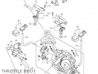 Suzuki Vz1500 Boulevard M90 2009 k9 Usa California e03 E33 Throttle Body