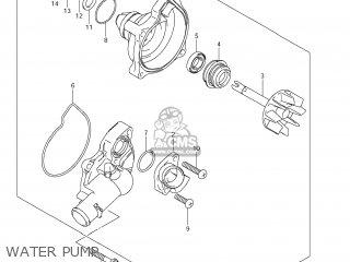 Suzuki Vz1500 Boulevard M90 2009 k9 Usa California e03 E33 Water Pump