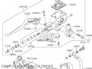 Suzuki Motorcycle Parts 2004 Vz1600 E3 Right Engine Cover Diagram