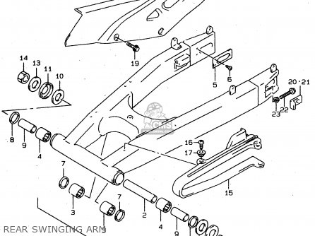 2006 Suzuki Gsxr 600 Parts Diagram