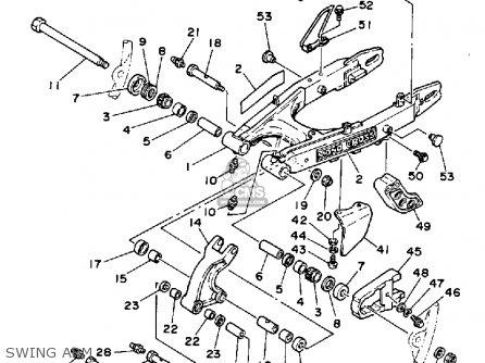 arm relay for xt250 dual purpose 1984 e usa order at cmsnl 1986 Yamaha XT 350 Custom Plastic arm relay photo