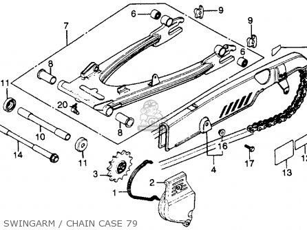 Washer, Chain Case photo