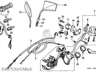 (17910-KEN-670) CABLE COMP A,THRO