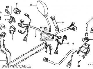 (17910-KFG-D11) CABLE COMP A,THRO