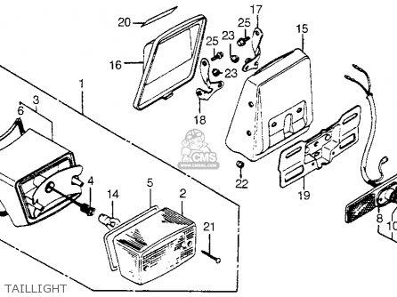 Unittaillight For Vf750c Magna 1982 C Usa