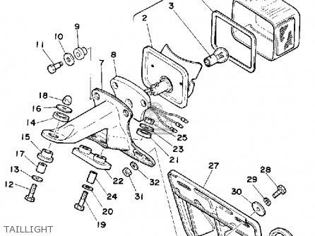 Yamaha 1986 Xt600s Xt600 Dual Purpose Motorcycle Parts