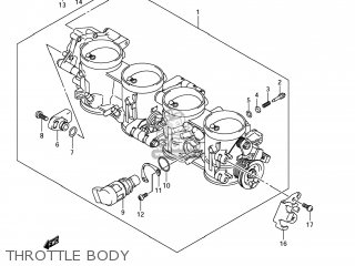 Body Assy, Throttle photo