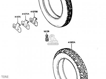 Tire, Rr, 120/90-18 65h photo