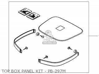 TOP BOX PANEL KIT - P