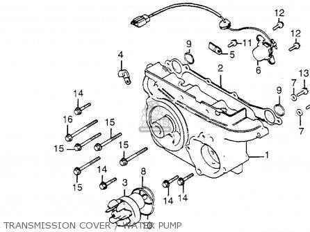 Honda Gl1200l 85 Gl1200ltd Goldwing Ltd 1985 Parts
