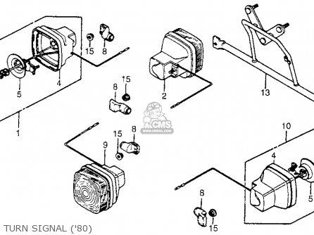 (33410-166-013) WIRE, R. TURN SIGNAL