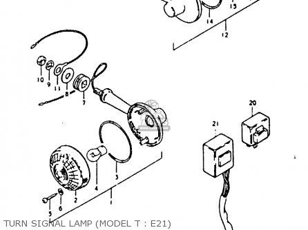 Lamp Assy, Rear Turn Signal photo