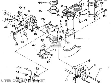 Yamaha 1998 4mlhw 4mlh Outboard Motorcycle Parts