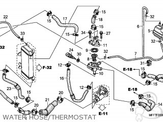 HOSE THERMO BYPAS