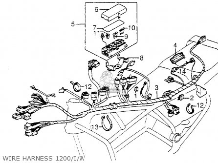 holder fuse box for gl1200a goldwing aspencade 1985 f usa Home Fuse Box holder fuse box photo