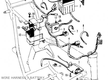 Honda Ct70 Trail 70 1970 Parts