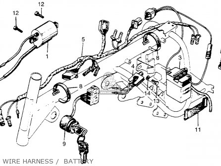 Cb750f Wiring Diagram