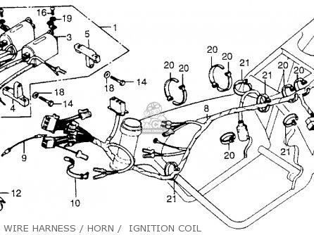 Cb750 Simple Wiring Diagram on 1977 cb550 wiring diagram