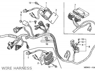 Ice Bear 50cc Scooter Wiring Diagram moreover Unit  p Cdi 30410kfl901 besides Partslist as well Guitar Wiring Schematics in addition Harness Wire 32100keb900. on piaggio wiring harness