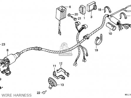 wire harness_mediumeck2f21f__2501_fdd0 38301 kz1 951) relay comp winker xr600r 1992 (n) australia 38301kz1950 Kawasaki ATV Wiring Diagram at gsmportal.co