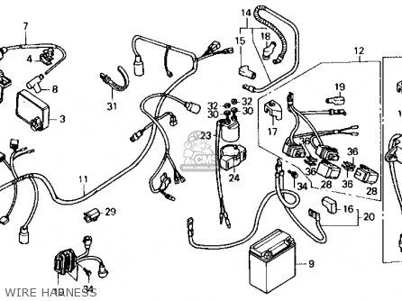 Honda Dream Wiring Diagram