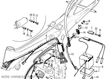 Wiring Harness 1969